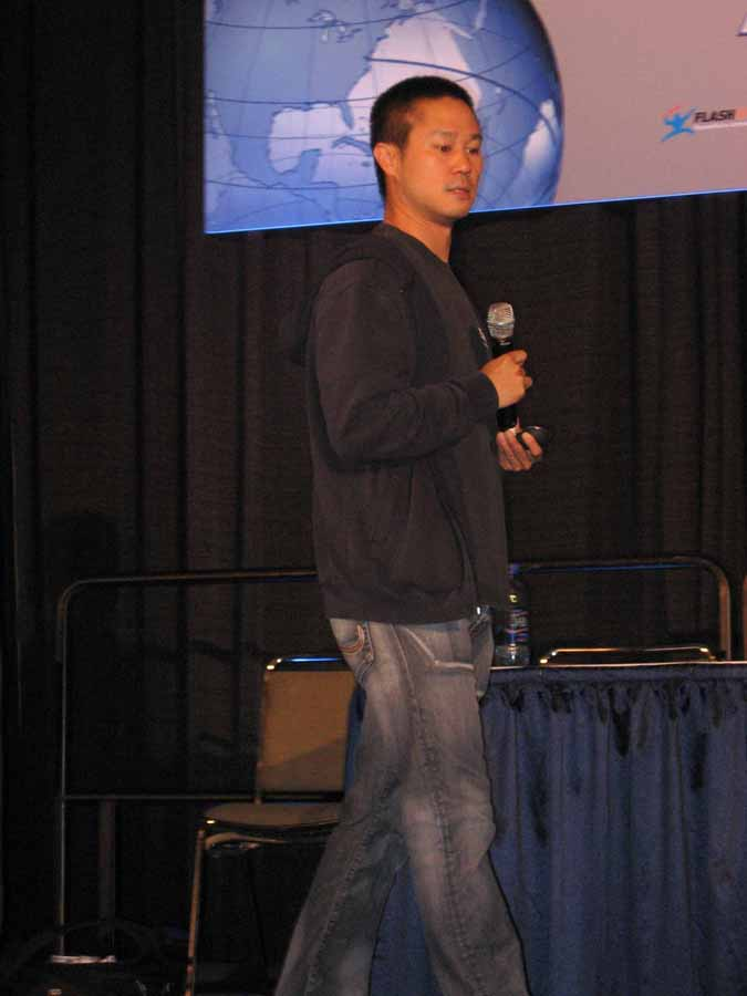 Tony Hsieh, CEO of Zappos at Online Market World
