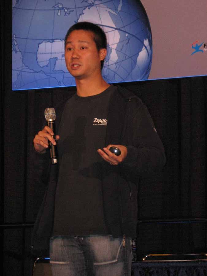 zappos ceo Tony hsieh (/ ˈ ʃ eɪ / shay (chinese: 謝家華 born december 12, 1973) is an american internet entrepreneur and venture capitalist he is the ceo of the online shoe and clothing company zappos.