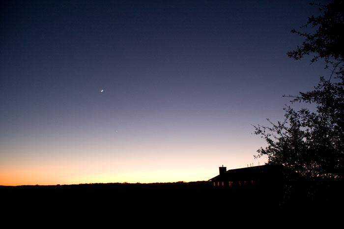Moon-Venus Convergence