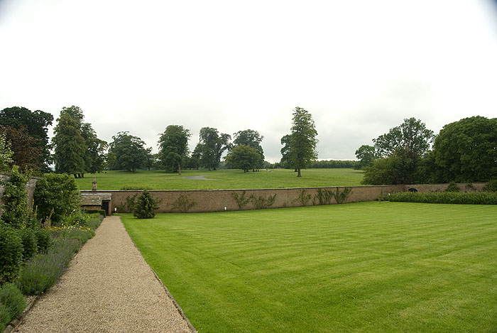 Grounds around Raby Castle