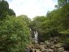 Waterfall into Loch Lomond